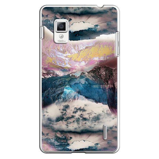 Optimus G Cases - Cloudy mountain landscape