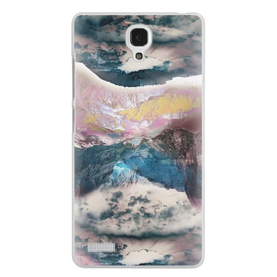 Redmi Note Cases - Cloudy mountain landscape