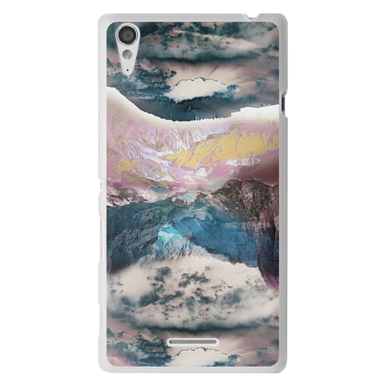 Sony T3 Cases - Cloudy mountain landscape