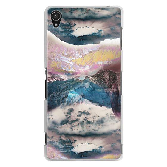 Sony Z3 Cases - Cloudy mountain landscape