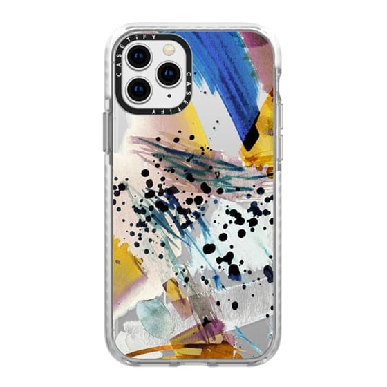 iPhone 11 Pro Cases - Colourful watercolor paint