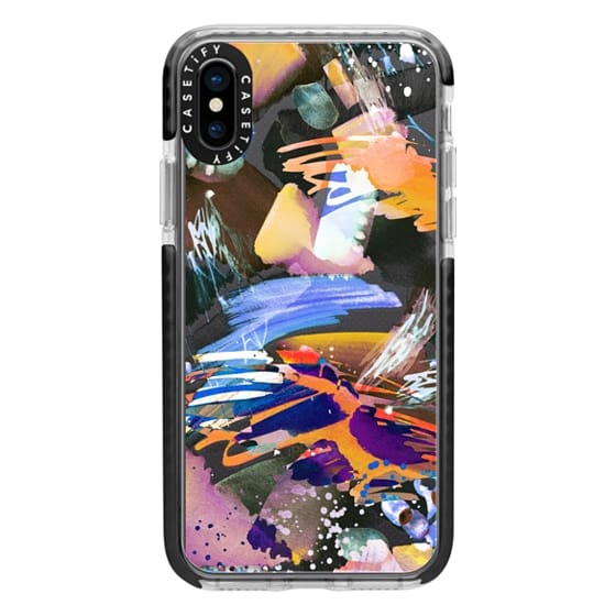 iPhone X Cases - Watercolor painting