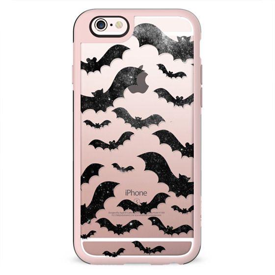 Bats pattern - night stars Halloween