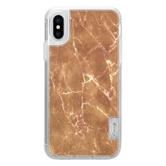 iPhone 6s Cases - Subtle gold marble cracks