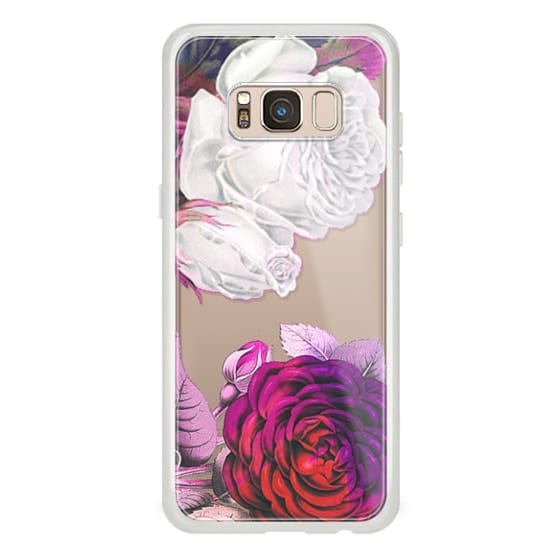 iPhone 6s Cases - Pink white rose petals clear