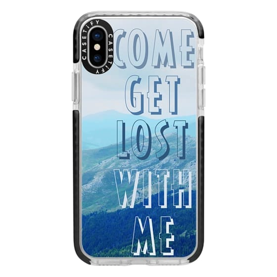 iPhone 7 Plus Cases - Come get lost with me - travelling couple goals