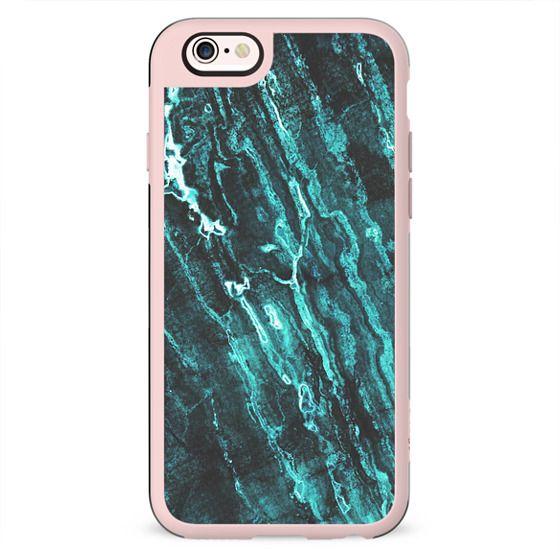 Dark turquoise marble