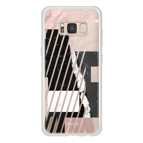 iPhone 7 Plus Cases - Geometric minimal marble composition