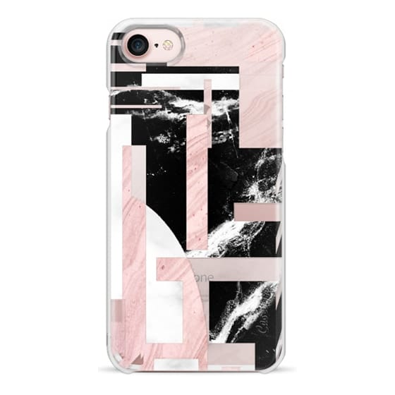 iPhone 6s Cases - Modern Geometric marble composition transparent