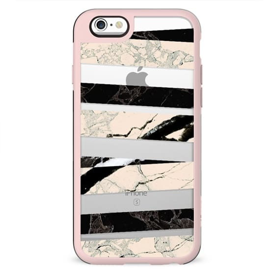 Cracked marble stripes