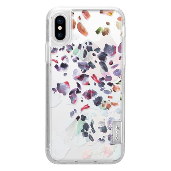 iPhone 6s Cases - Pastel watercolor pebble stones clear