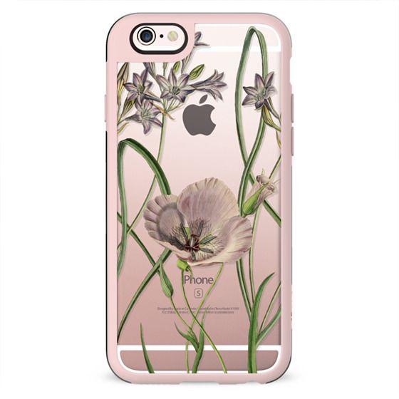 Elegant minimal botanical flower illustration