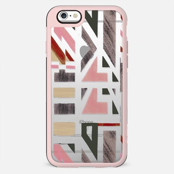 Minimal primitive geometric pattern - New Standard Case