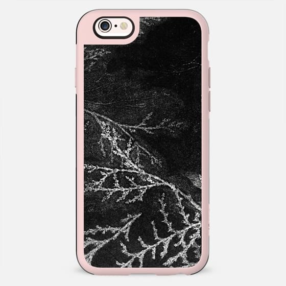 Charcoal leaves - New Standard Case