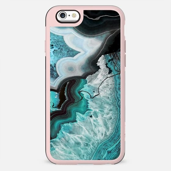 Turquoise agate marble art - New Standard Case