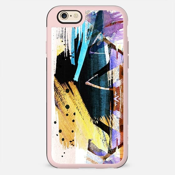 Vibrant brushed watercolor art - New Standard Case