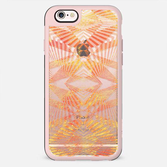 Golden stripes geometric clear - New Standard Case