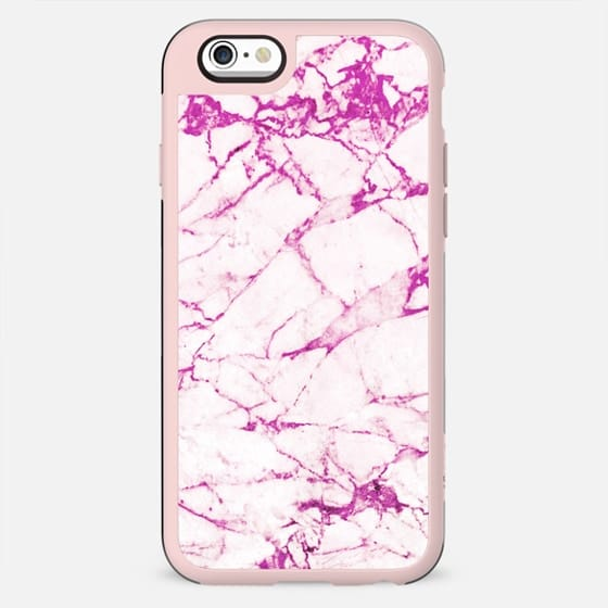 magenta grunge marble cracks