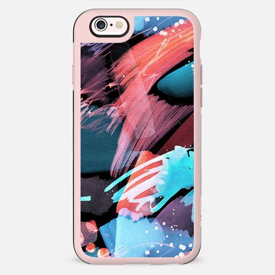 Paint splatter and brushstrokes - New Standard Case