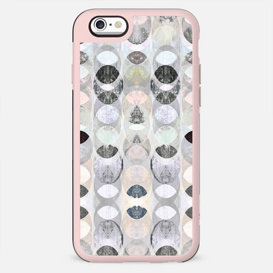 Half moons textured pastel pattern - New Standard Case