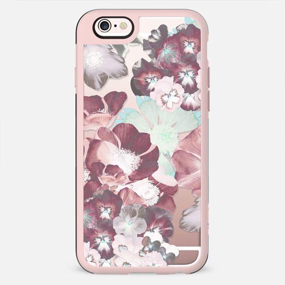 Transparent pastel flower petals - New Standard Case