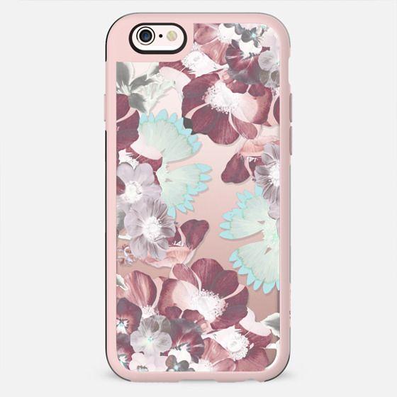 Pastel flower petals clear 2 - New Standard Case