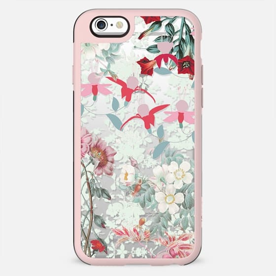 Pastel Romantic floral botanical illustration