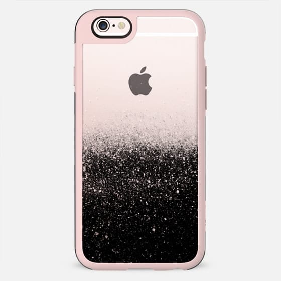 Black transparent glitter - New Standard Case