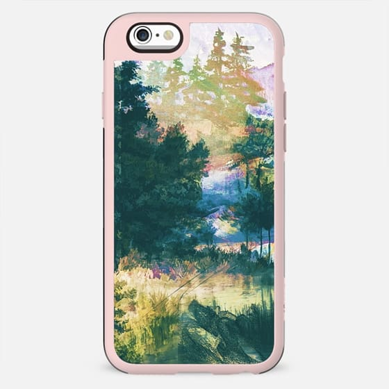 abstract watercolor landscape - New Standard Case