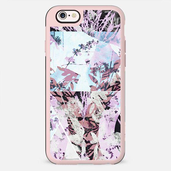 Pastel floral collage - New Standard Case