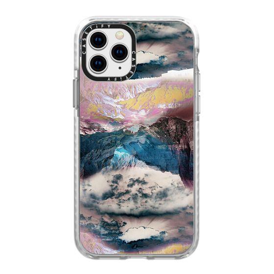 iPhone 11 Pro Cases - Cloudy mountain landscape