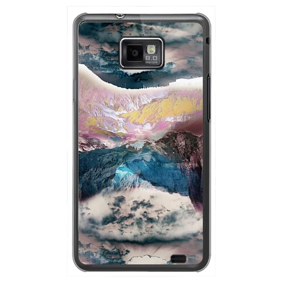 Samsung Galaxy S2 Cases - Cloudy mountain landscape