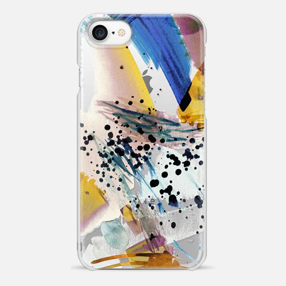 iPhone 7 Case - Colourful watercolor paint