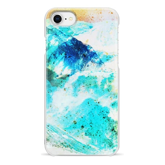 iPhone 6s Cases - Watercolor painted mountain landscape