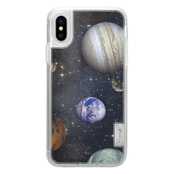 iPhone 6s Cases - Planets and stars transparent Universe