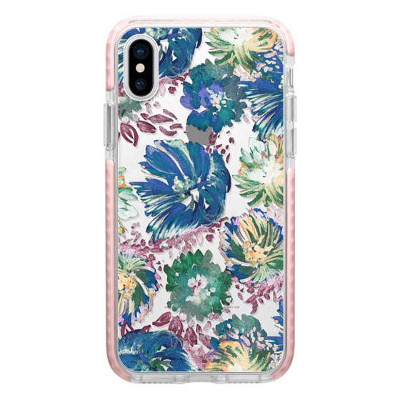 iPhone 7 Plus Cases - Transparent painted flower petals
