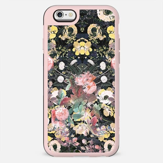 Botanical pastel flower garden - New Standard Case