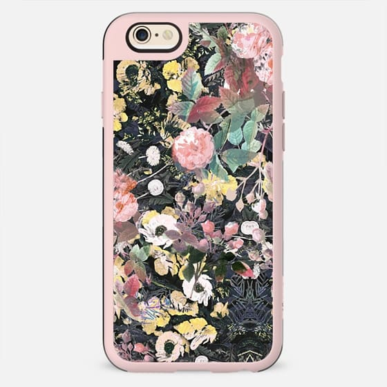Botanical intricate flower garden - New Standard Case