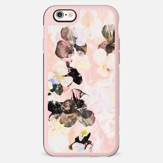 Pink peach pansy petals - New Standard Case