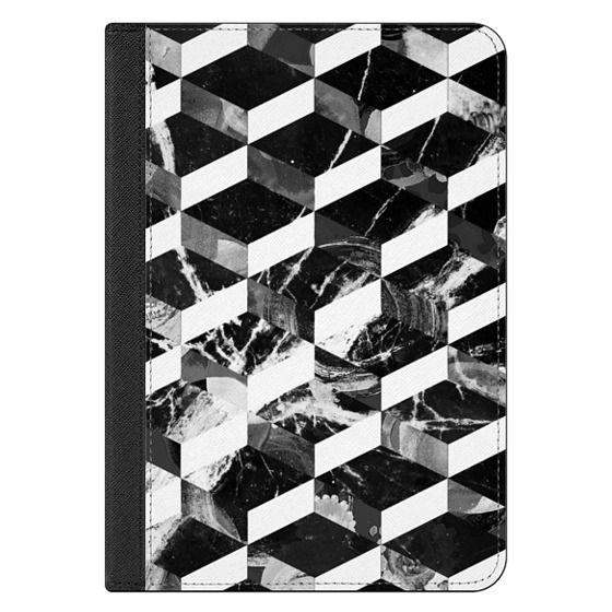 iPad Mini 4 Covers - Monochrome marble tiles pattern
