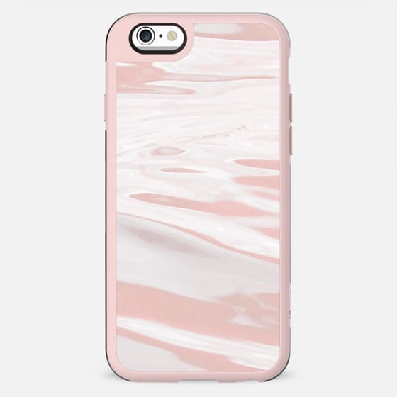Dusty pink liquid marble stripes - New Standard Case