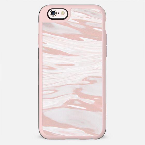 pink liquid marble waves - New Standard Case