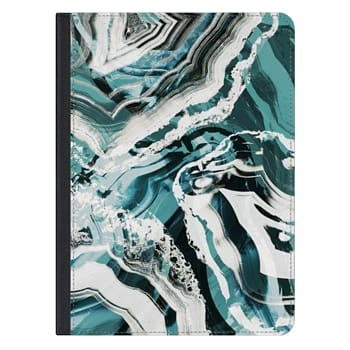 iPad Pro 12.9-inch Case - Marble brushed agate