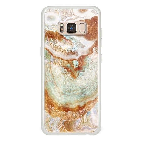 iPhone 6s Cases - Golden agate gem textures
