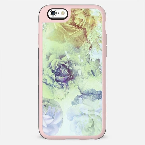 Stylised watercolor rose petals - New Standard Case