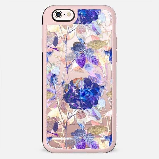 purple blue x-ray roses - New Standard Case