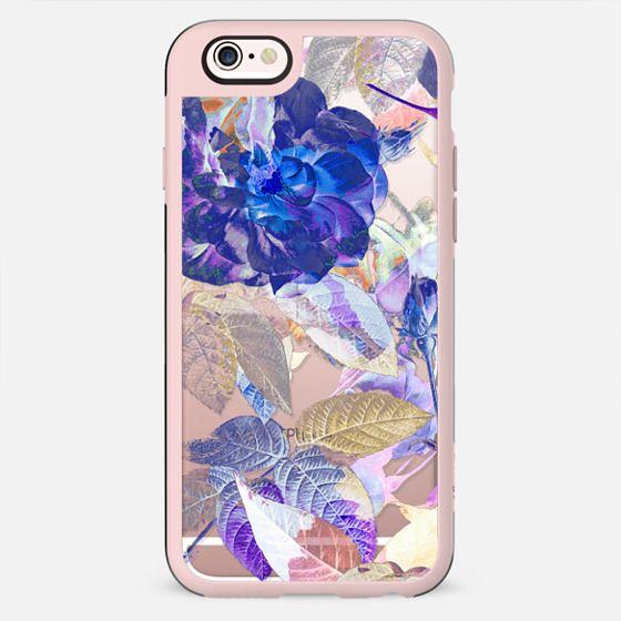 X-ray blue purple rose - New Standard Case