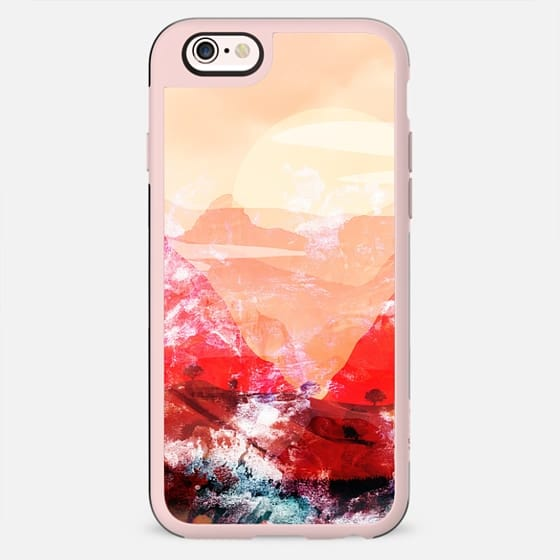 Peach sunset landscape - New Standard Case