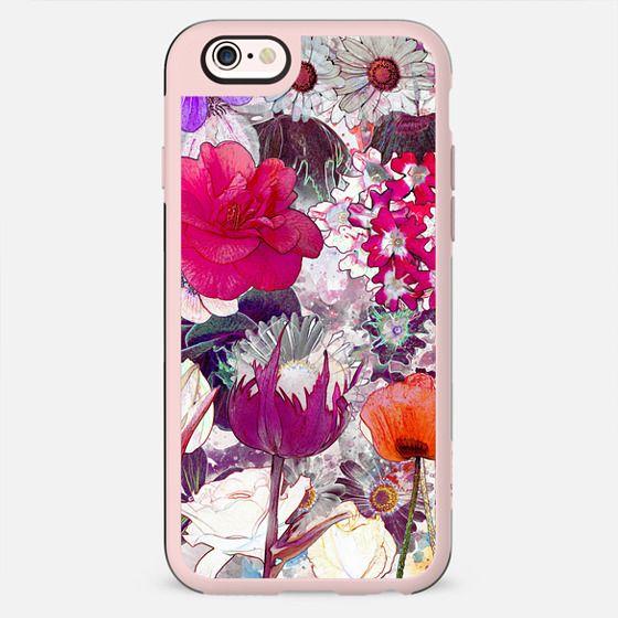 Colorful vibrant Flower garden - New Standard Case