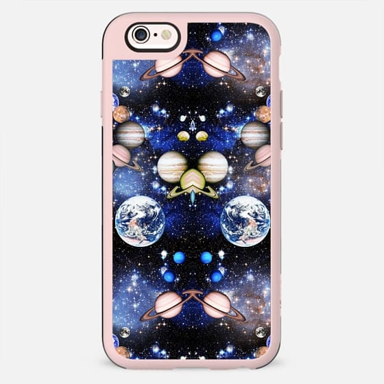 Mirrored pattern Universe perfection - stars and planets - New Standard Case